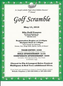 Golf Scramble 2016