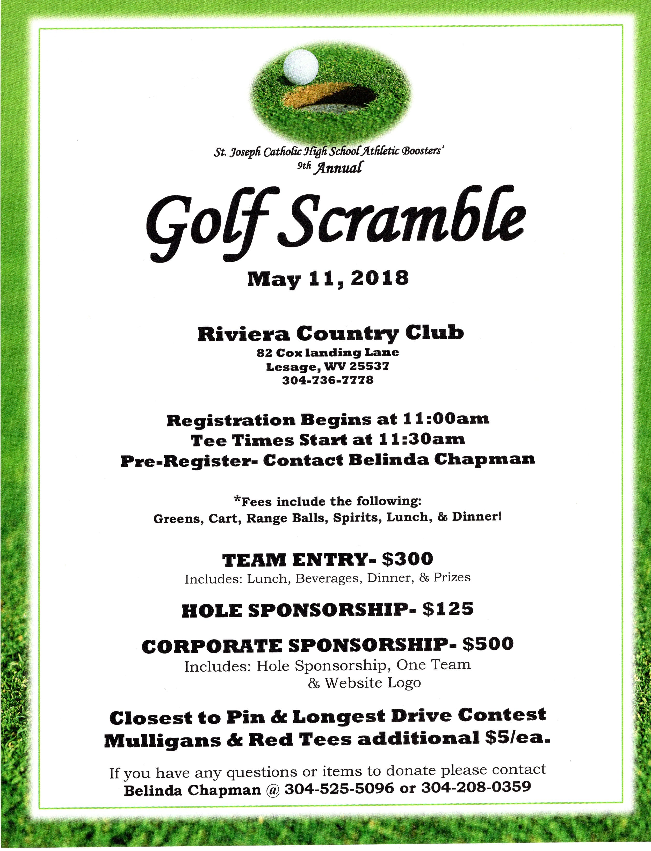 9th Annual Golf Scramble - 5 downloads